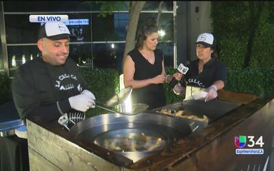 """""""La Calaca: Fish tacos"""", un negocios exitoso en Los Ángeles"""