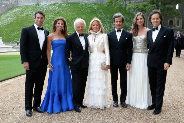 Ralph Lauren y miembros de su familia.Mira aquí lo último en chismes.