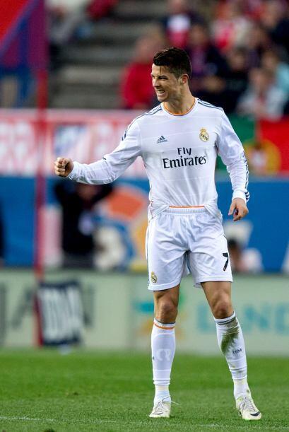 Por ello, la alegría de Ronaldo era más que clara.