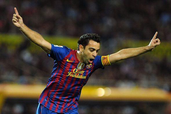 Xavier Hernández salió festejando y el Barcelona arrancaba...