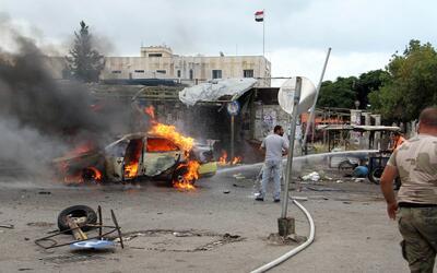 Siete carros-bomba exploraron en la ciudad de Tartus, en Siria