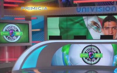 En exclusiva, el espectacular estudio de Univision Deportes en Brasil