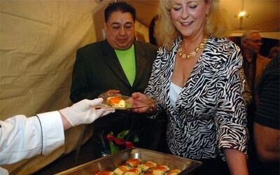 Exquisita muestra gastronómica organizada por el restaurant Desperados e...