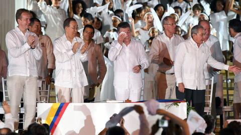 Líder de las FARC pidió perdón a las víctimas del conflicto armado en Co...