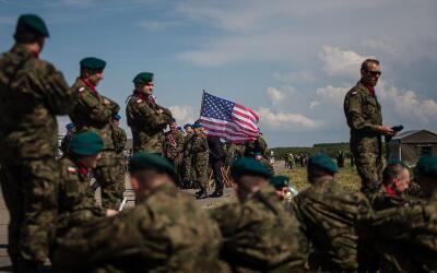 Una porción del despliegue militar estadounidense irá a Po...