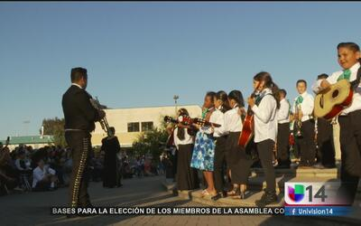 Un distrito escolar de California ofrece clases gratuitas de mariachi