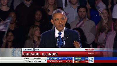 Barack Obama: 'para los Estados Unidos de América, lo mejor está por venir'