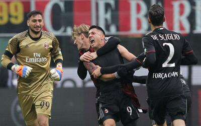 Milán vs. Crotone