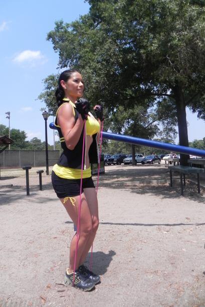 Con la cuerda también puedes hacer otros ejercicios además de saltar com...