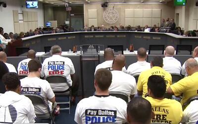 Una Corte de Dallas decidirá futuro del fondo de pensión para policías y...