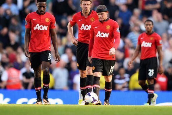 Las caras de los jugadores del United mostraban a un equipo sin din&aacu...