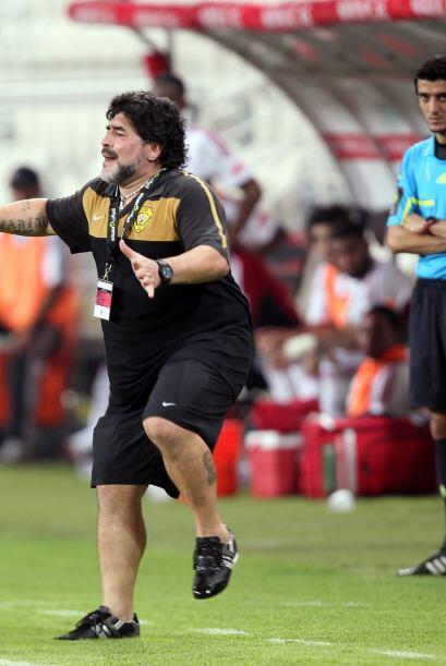 El 3 a 3 no era mal resultado pero Diego quería más.