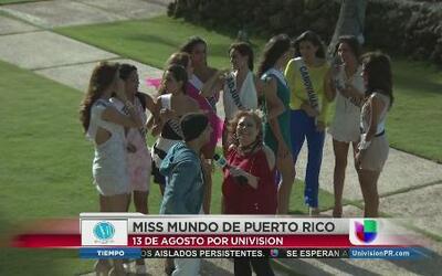Sie7e comparte con las candidatas de Miss Mundo Puerto Rico