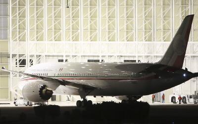 El  nuevo avión de Peña Nieto.