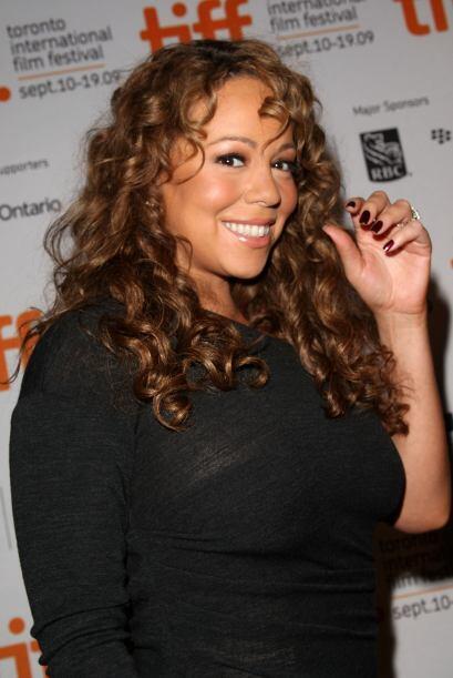 Otras más que ha tenido pesadillas con la báscula, Mariah Carey. Más vid...