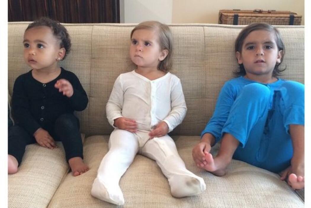 Nori, Penélope y Mason son los Kardashian más pequeños pero ya son todas...