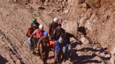 En este accidente dos mineros perdieron la vida.