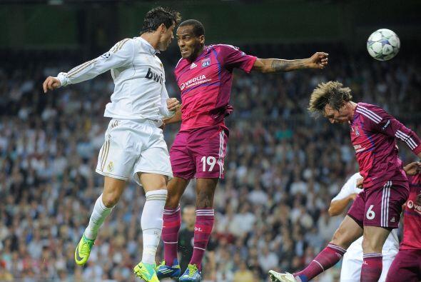 No pasaron los primeros 20 minutos y el Madrid golpeó. CR7 pein&o...