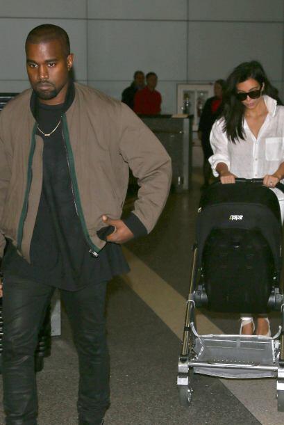 Los West Kardashian regresaron a Los Ángeles después de conquistar Austr...