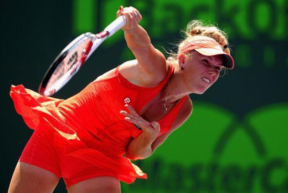 Wozniacki, cinco veces ganadora en la 'Capital del Sol' se impuso en el...