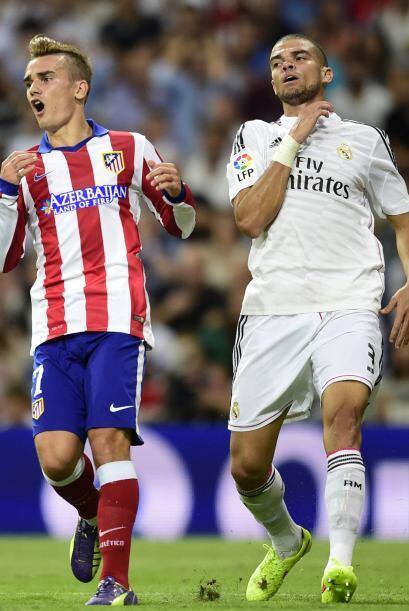 Al minuto 62 se produjo la primer modificación del Madrid d&aacut...