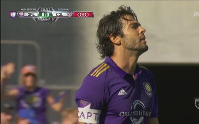 Kaká estuvo a punto de meter un golazo en su regreso
