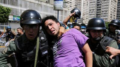 Gobierno venezolano justifica la represión