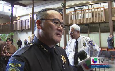 Nuevo jefe de policía en la ciudad de Sacramento