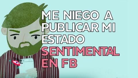 Publicar o no mi estado civil en Facebook?