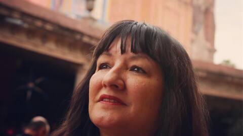 La escritora Sandra Cisneros