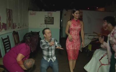 Carlitos el productor llevó a Clarissa a una cita tenebrosa