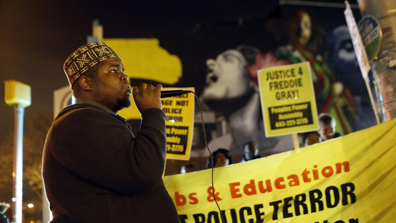 Protestas en Baltimore por caso sobre Freddie Gray
