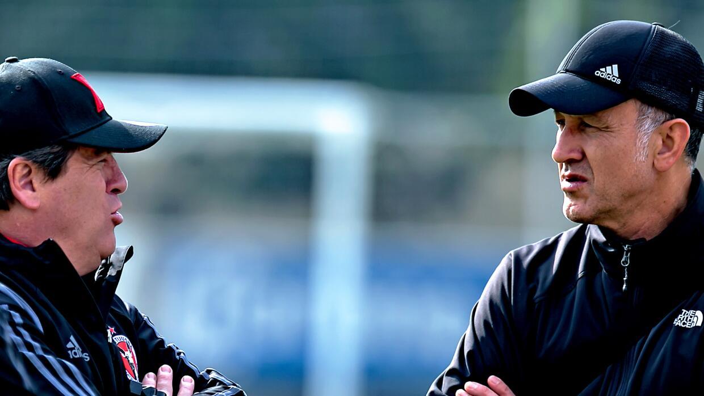Miguel Herrera y Juan Carlos Osorio