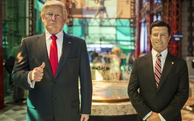 Donald Trump y Enrique Peña Nieto comparten protagonismo en el museo de...