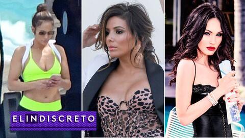 #ElIndiscreto JLo; Eva Longoria; Megan Fox