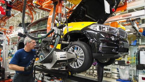BMW Manufacturing employs 8,000 people at its 1,150-acre, 5-million-squa...