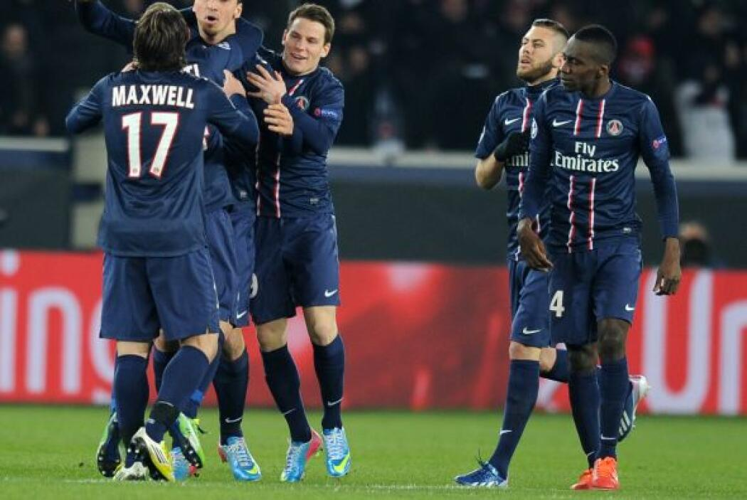 EL PSG empataba el partido y delvolvía la emoción.