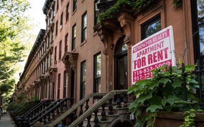 Una casa en arriendo en Brooklyn, Nueva York.