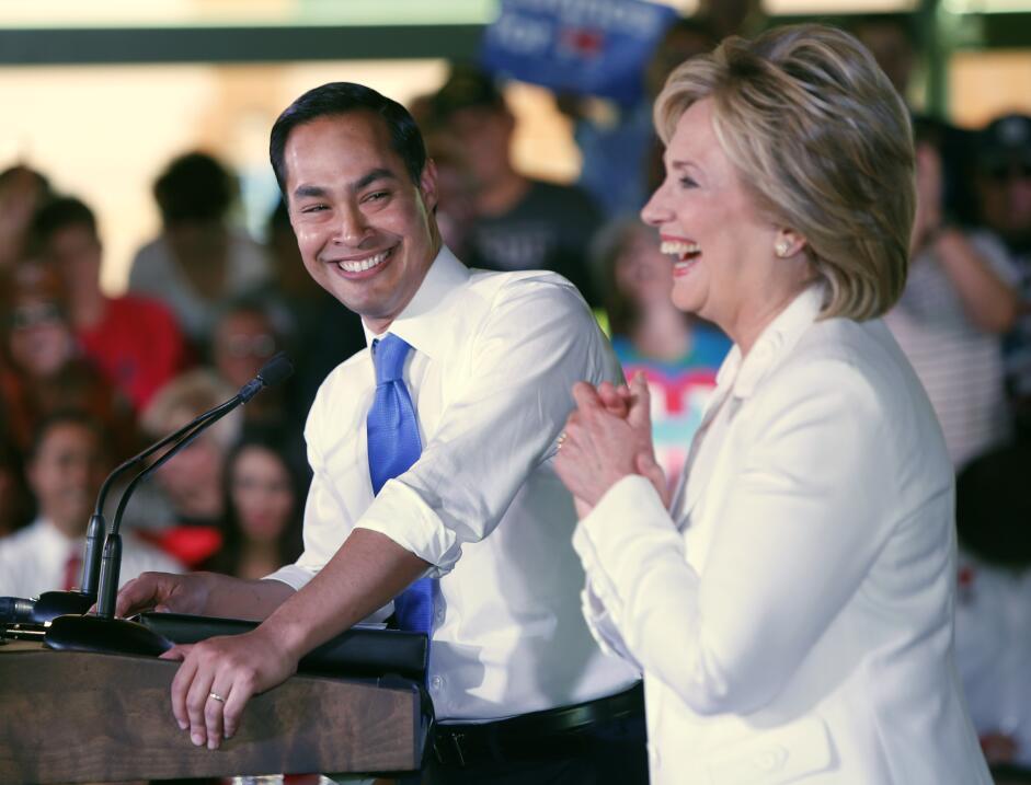 Hillary Clinton en San Antonio