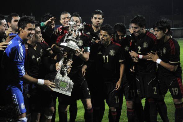 La Selección Mexicana Sub 23 se coronó en el Esperanzas de...