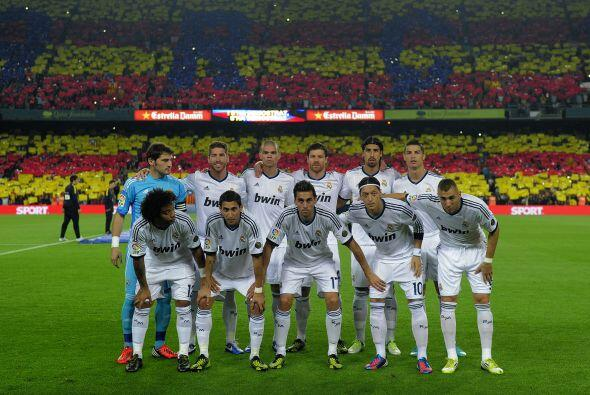 Alineación de éxito: Entre el once inicial que presentó el Real Madrid q...