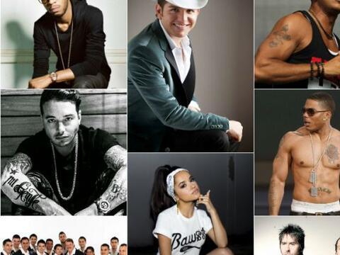 Los artistas del Uforia Music Festival 2014 han tenido grandes éx...