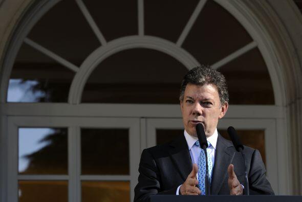 El mandatario señaló que Colombia espera crecer este año un 5% y para el...