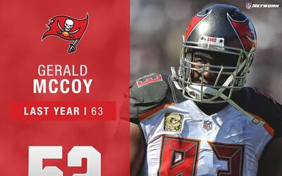#52: Gerald McCoy (DT, Buccaneers) | Top 100 Jugadores 2017