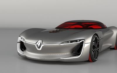 Renault Tezor, el Gran Turismo eléctrico y autónomo del futuro