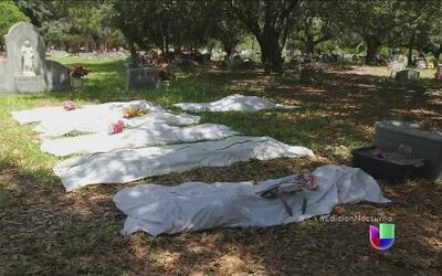 La ardua labor de identificar cadáveres en la frontera