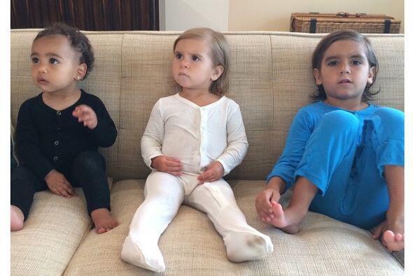 Nori, Penélope y Mason son los Kardashian más peque&ntilde...