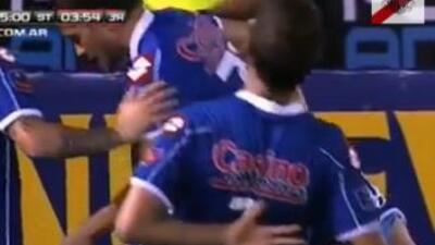 Leandro Grimi fue golpeado.