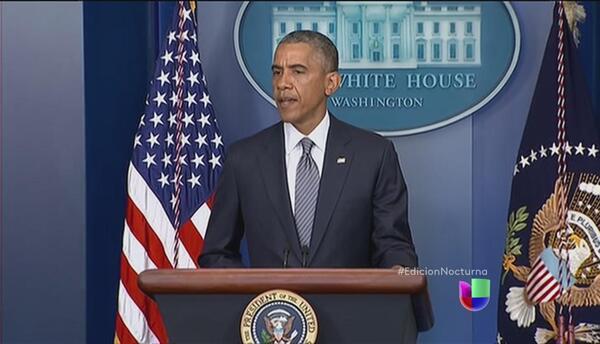 Obama abordará el tema de la crisis humanitaria