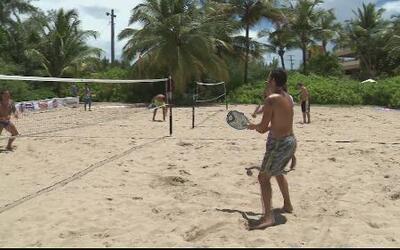 """Carolina es el escenario para el """"Beach Tenis"""""""